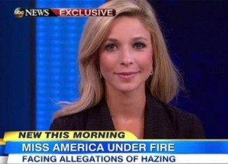 Miss America Kira Kazantsev says she was removed from her college sorority over a letter that made light of hazing