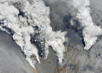 Mount Ontake volcano eruption injured at least eight hikers and left 250 others stranded near the peak