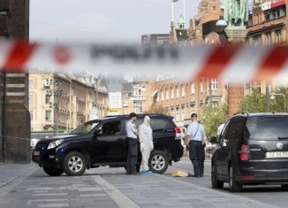 One person has been shot dead and another wounded in a court building in Copenhagen