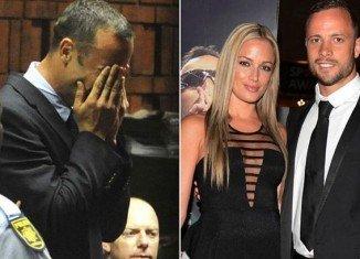 Oscar Pistorius denies intentionally killing his girlfriend Reeva Steenkamp on Valentine's Day of 2013