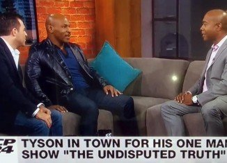 The CP24 interview turned nasty when news anchor Nathan Downer challenged Mike Tyson on his suitability as a public endorser of controversial Mayor Rob Ford's re-election bid