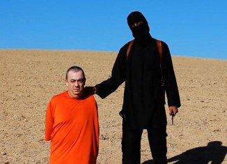 The ISIS militants issued their threat to kill Alan Henning in a video released on September 13