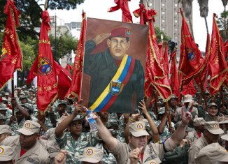 The commemoration of late Hugo Chavez with a rewriting of the Christian Lord's Prayer is causing controversy in Venezuela