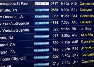 The fire in Aurora air traffic control facility grounded all flights in and out of Chicago's two major airports