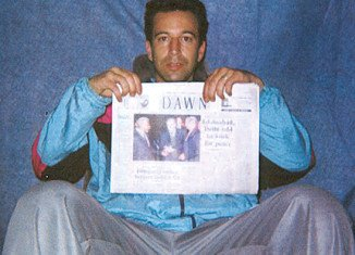 American journalist Daniel Pearl went missing in Karachi in January 2002