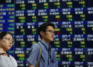 Asian markets opened lower after Wall Street tumbled on US economic data