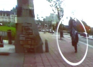 Canadian police have released a video showing how gunman Michael Zehaf-Bibeau stormed into the parliament's building