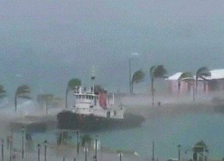 Hurricane Gonzalo left a trail of damage in its wake on the tiny Atlantic territory of Bermuda