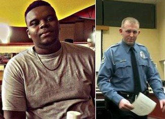 Michael Brown's blood was found on the gun, uniform and inside the car of Officer Darren Wilson