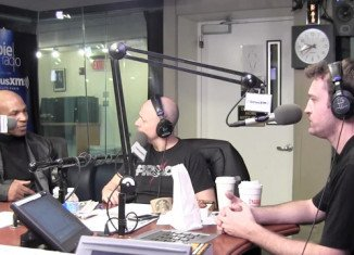 Mike Tyson appeared as a guest on SiriusXM's OpieRadio show
