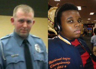 Officer Darren Wilson fatally shot Michael Brown in Ferguson, Missouri, on August 9