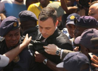 Oscar Pistorius' charity work has been scrutinized by the prosecution on a second day of his sentencing hearing in Pretoria court