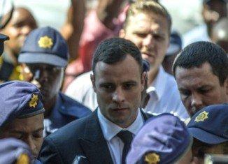 Oscar Pistorius has begun jail sentence for killing his girlfriend Reeva Steenkamp