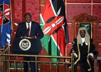 President Uhuru Kenyatta has confirmed during a speech in front of the parliament that he will be appearing at the ICC in The Hague on October 8