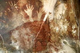 Some of the earliest cave paintings produced by humans have been identified in a rural area on the Indonesian Island of Sulawesi