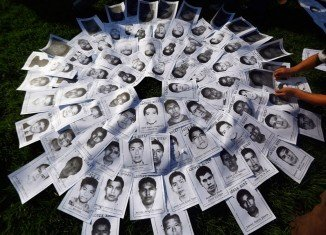The students' disappearance has shocked Mexico and has sparked nationwide demonstrations