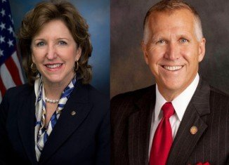 Democratic Senator Kay Hagan faces Republican Thom Tillis, the speaker of the state House of Representatives, in the most expensive race of the election cycle