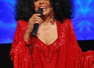 Diana Ross at the InterContinental Miami MAKE-A-WISH Ball