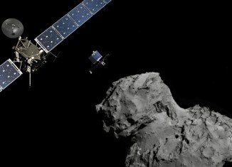 ESA's robot probe Philae has made the first, historic landing on Comet 67P