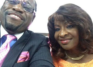 Myles Munroe of Bahamas Faith Ministries International and his wife Ruth Ann Munroe