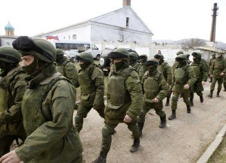 Russian military equipment and combat troops entered Ukraine