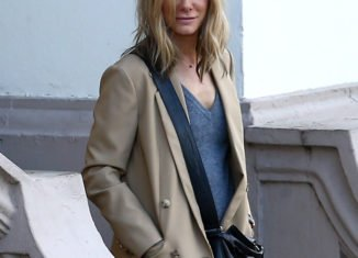 Sandra Bullock is now a blonde for her role in Our Brand Is Crisis
