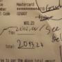 $2,000 Tip at Blue 44 Restaurant in Upper Northwest Washington